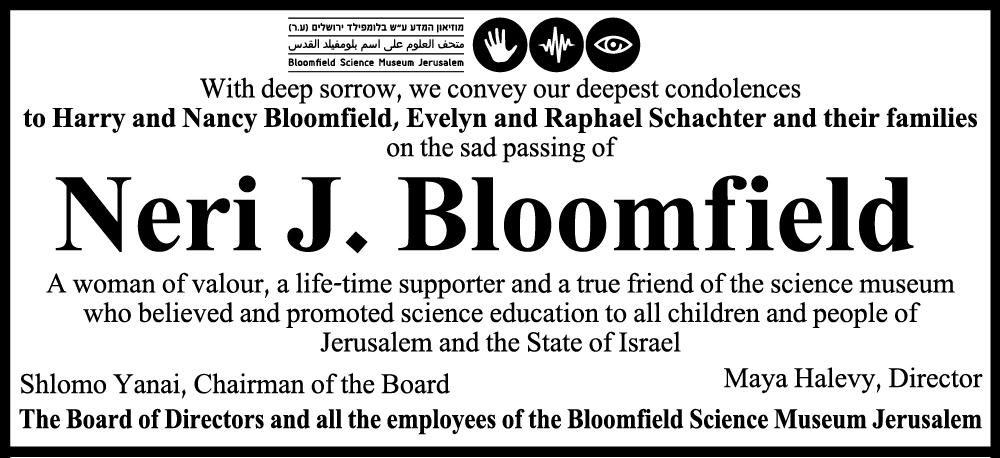 Neri J. Bloomfield